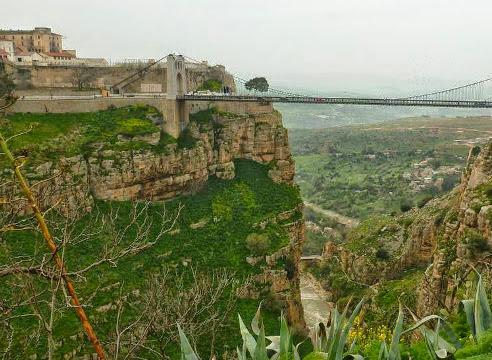 constantine algeria city of bridges