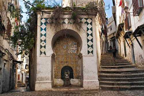 Fountain in the Kasbah, Algiers