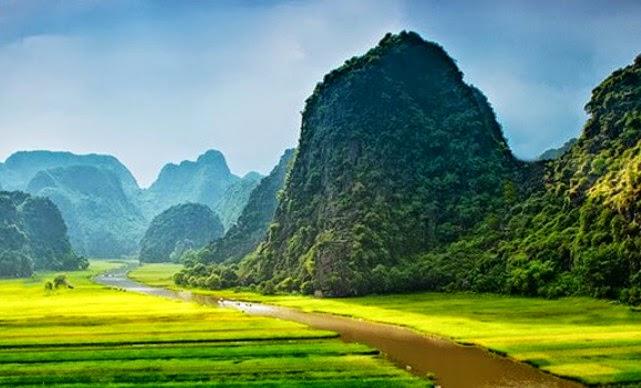 Trang An in Vietnam
