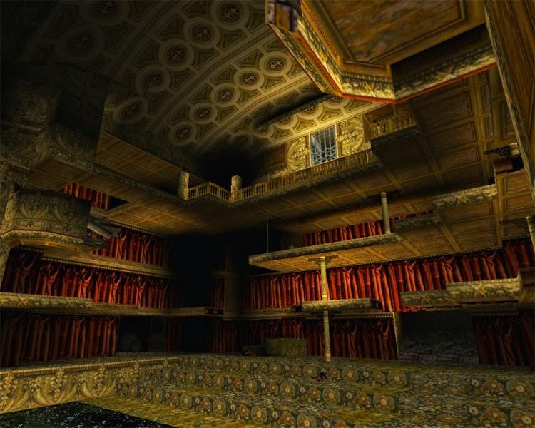 Lara Croft in the Opera House in Venice