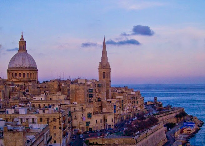 Enjoy this beautiful view on Malta