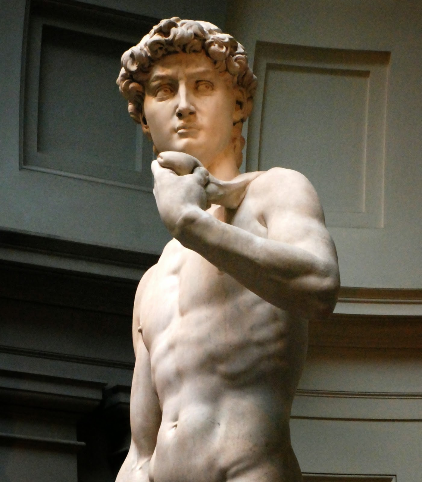 Florence and its beauties as the Michelangelo's sculpture David