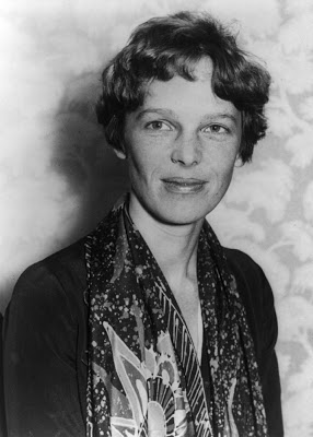Amelia Earhart, an American aviation pioneer