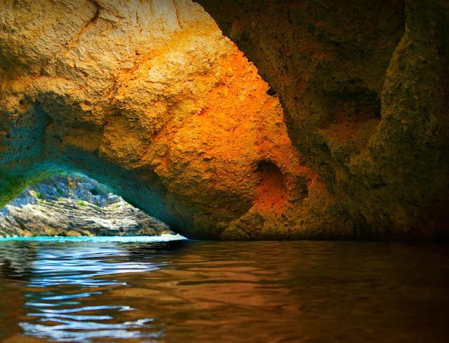 A sea cave of Vieste