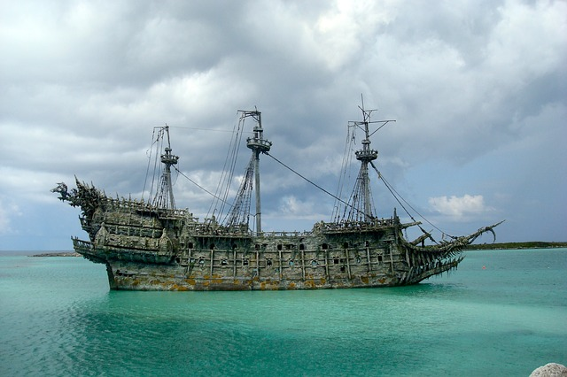 pirates ship of the caribbean