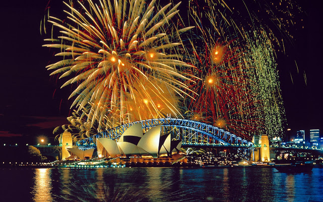 New Year's Eve 2016 in Sydney