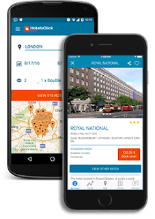 download hotelsclick app and book your hotel