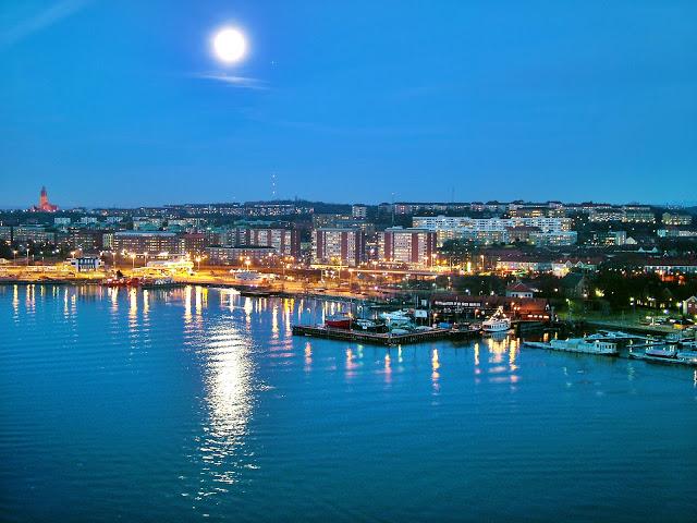 panoramic view of Gothenburg