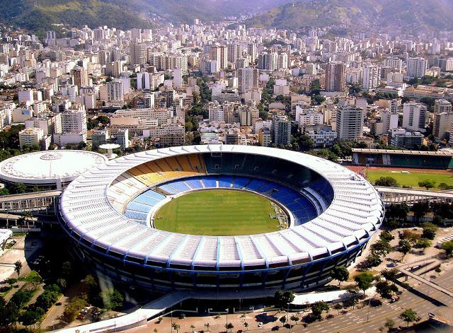 Maracana stadium a rio de janeiro, brazil