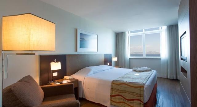 room of the hotel golden tulip regente in rio de janeiro