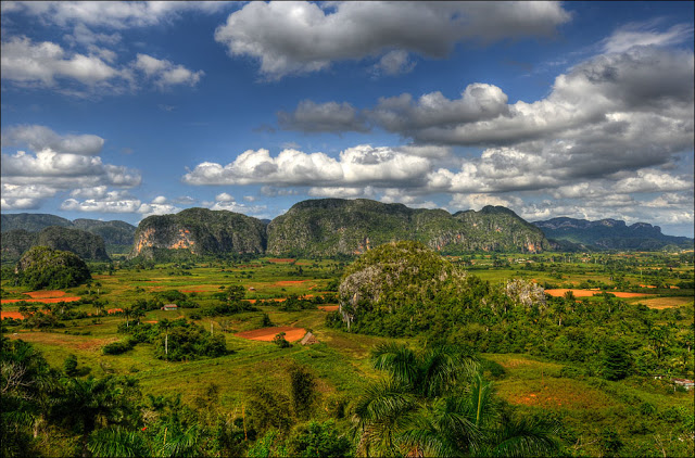 view of Viñales Valley – Unesco heritage