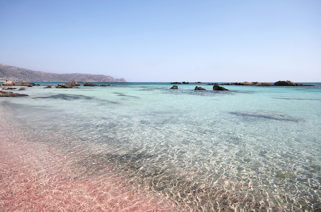 elafonissi beach in crete