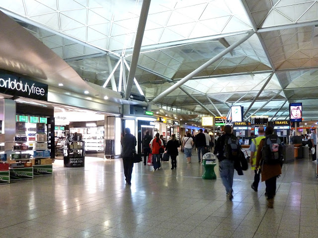 london stansted airport, duty free zone