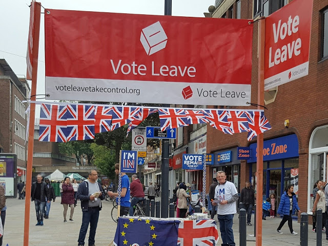 brexit referendum, supporters of leave campaign