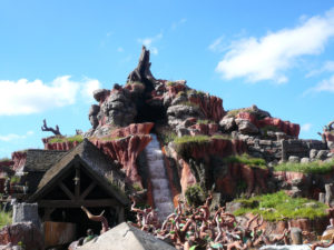 Splash Mountain at Magic Kingdom, Orlando, Florida