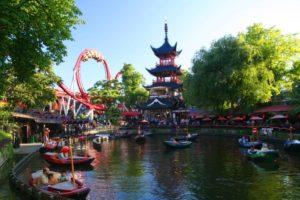 Tivoli gardens - top things to see in Copenhagen