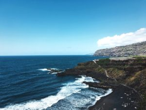 beach of El Bollullo, Tenerife, Canary Islands