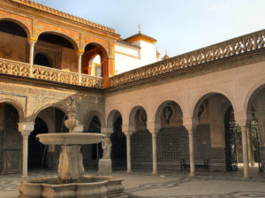 Pilate's house, a must-see in Seville, Spain