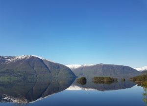 Hornindalsvatnet in Norway