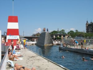 Copenhagen Harbour Bath Islands Brygge