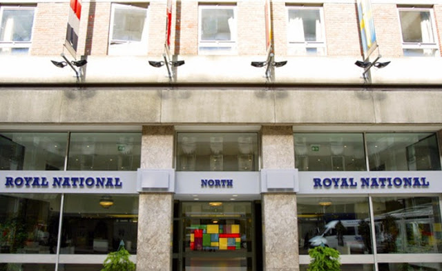 Entrance Royal National Hotel London