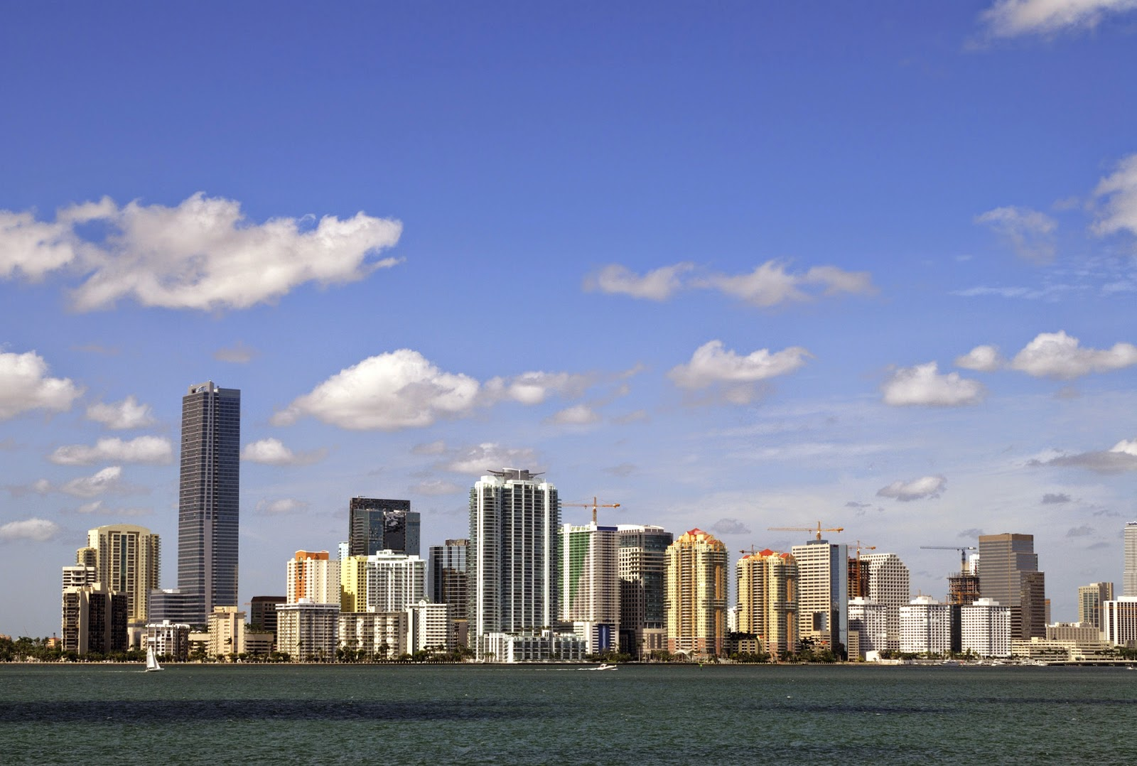 View the great skyline of Miami