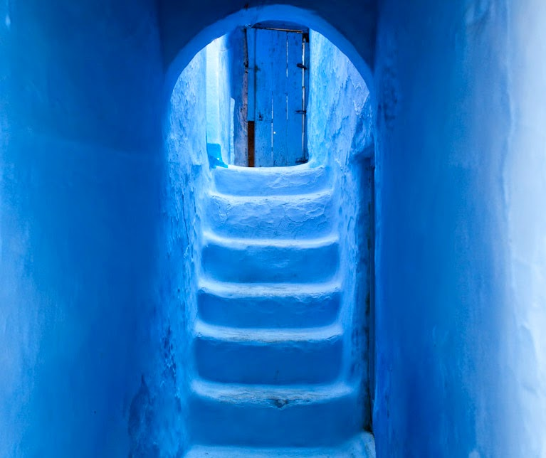 Experience the magic atmosphere of Chefchaouen village, the Blue Cityin Morocco