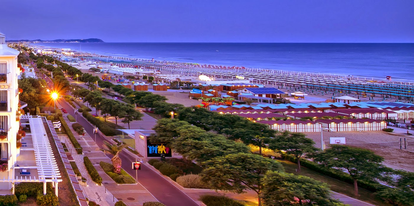view of the sea in riccione