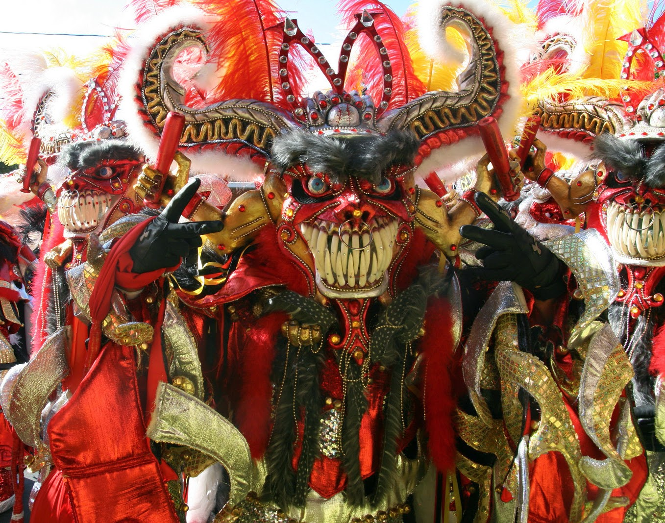 How is celebrated the Carnival in La Vega, Dominican Republic