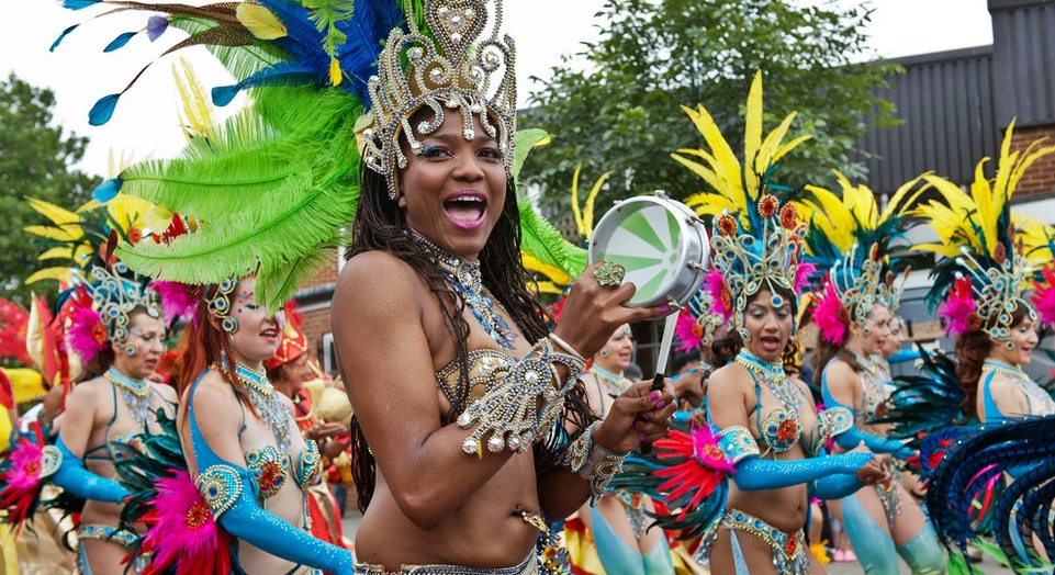 The Notting Hill Carnival in London 2015