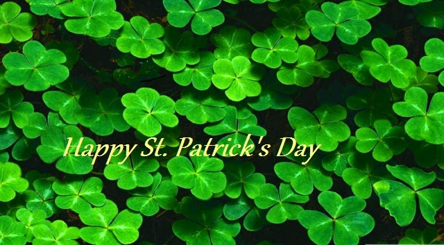 St Patricks Day 2015: shamrock pictures