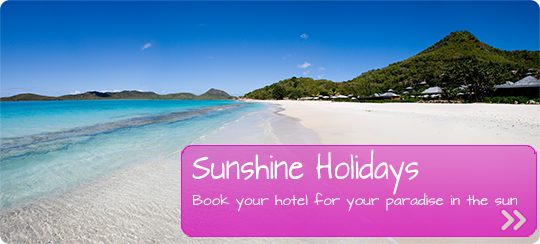 hotel offers for sunshine holidays