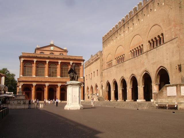 Piazza Cavour, Rimini - Italy