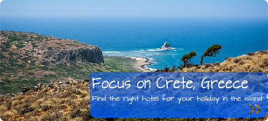 Book a hotel for your holidays in Crete, Greece