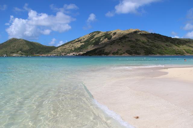 Beach of St. Lucia island, Lesser Antilles
