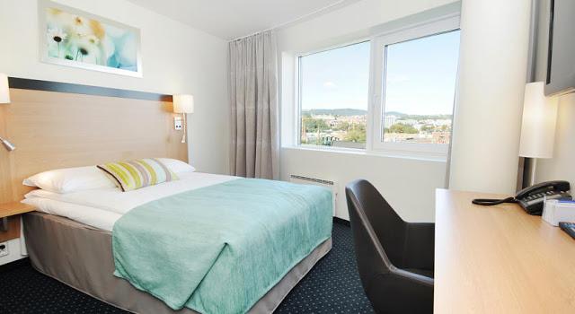 Hotel Anker's room in Oslo