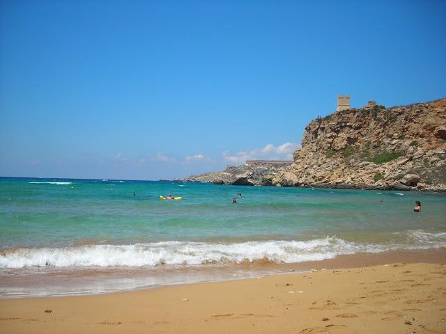 Għajn Tuffieħa beach, malta