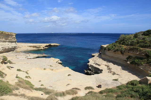 San Peter's Pool, top beach in malta