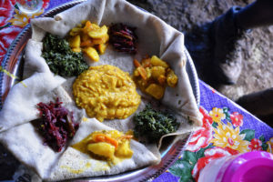 A typical Ethiopian dish you can enjoy in Portland Or