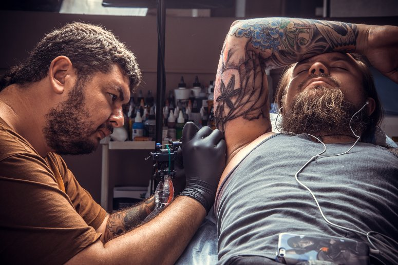 Best tattoos shops in Las Vegas.