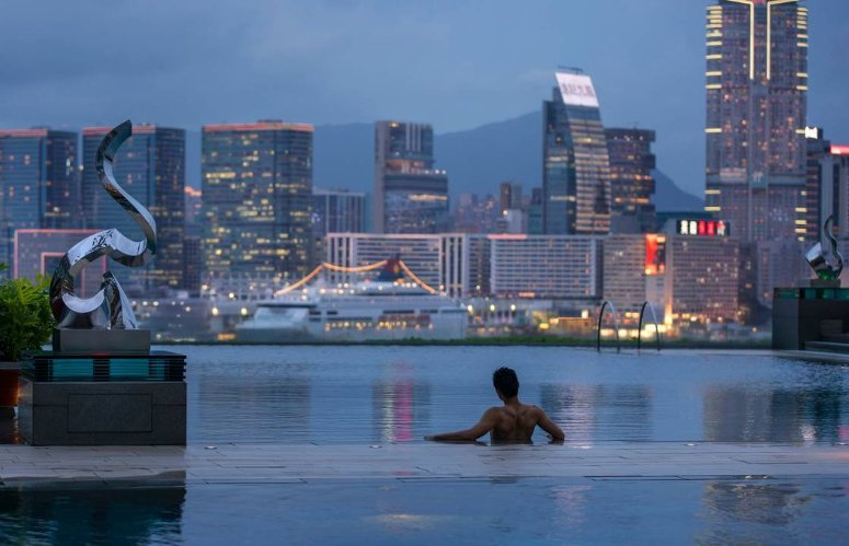 Hong Kong's Best Hotels with Infinity Pools of 2017