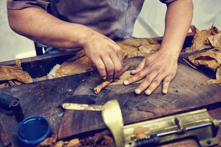 See how Cuban cigars are made.