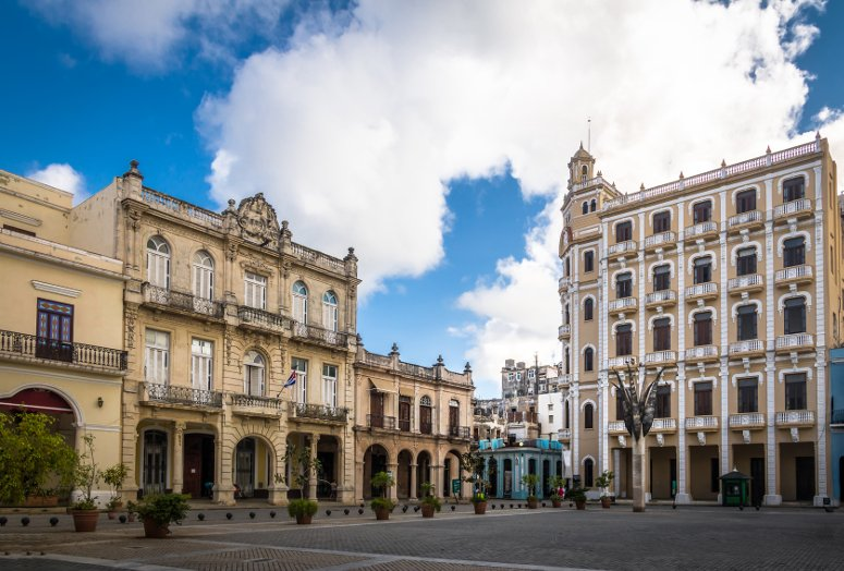 Plaza Vieja in Havana