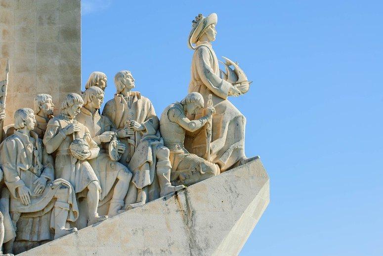 Padrão dos Descobrimentos monument, in Lisbon.
