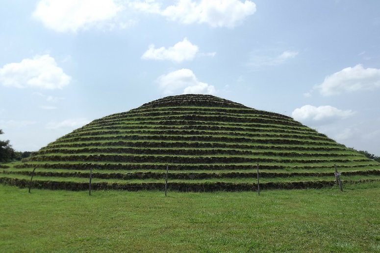 The highest pyramid at Guachimontones.