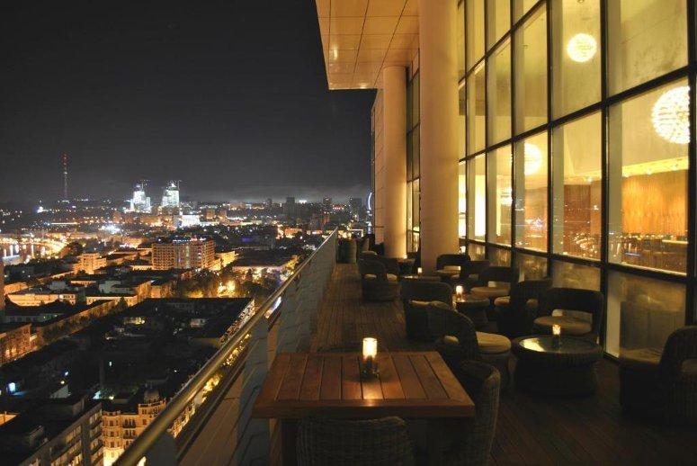 Sky Bar & Lounge, Baku, Azerbaijan.
