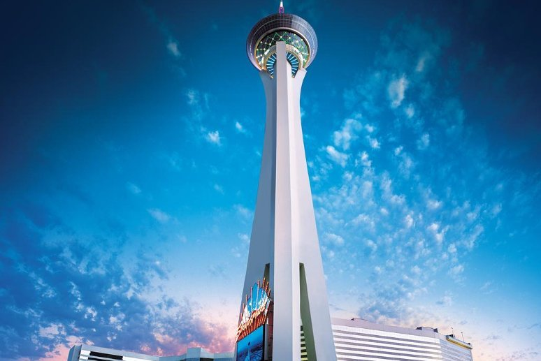 The Stratosphere Casino, Hotel & Tower in Las Vegas.