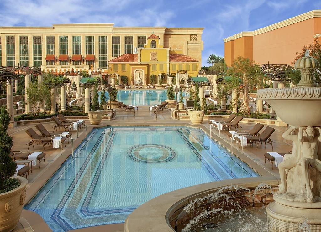 The Venetian Hotel in Las Vegas, perfect for a family vacation.