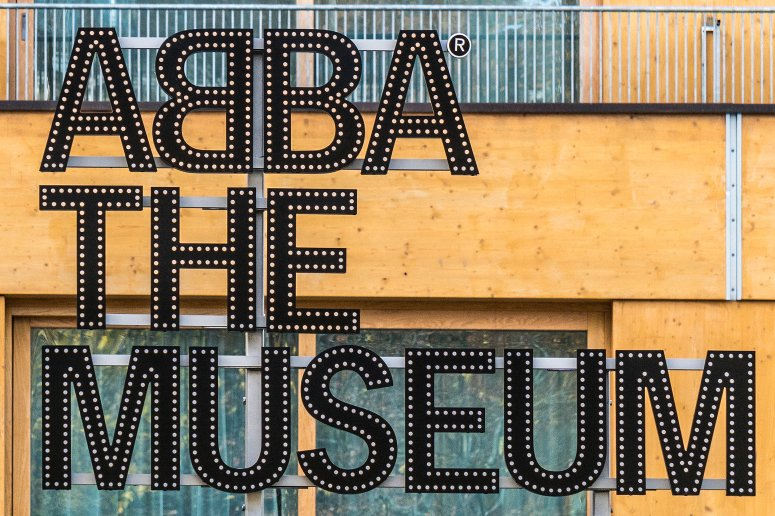 ABBA museum in Stockholm, Sweden.