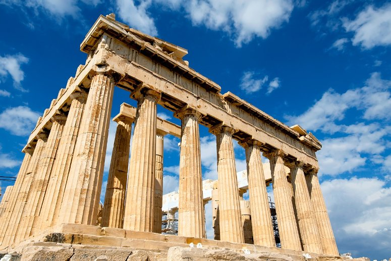 If you are visiting Athens for 3 days only, you must visit the Parthenon, on the Acropolis.